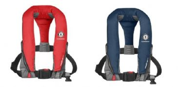 Crewsaver CREWFIT SPORT LIFEJACKET 165N MANUAL  RED & NAVY BLUE